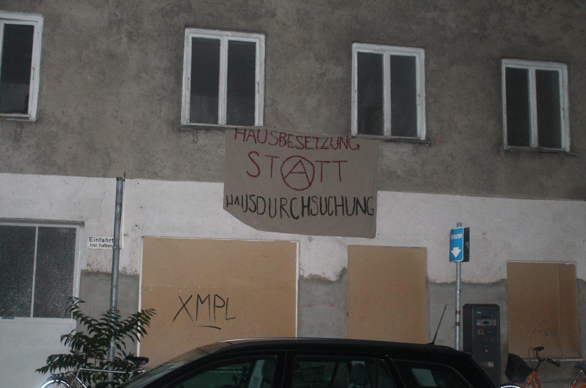 Aufruf zur Solidarität mit den Betroffenen der Hausdurchsuchungen